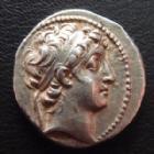 Photo numismatique  Monnaies Monnaies grecques Syrie, Syria, Démétrius II Nicator Drachme, Drachm SYRIE, SYRIA, Démétrius II Nicator, drachme 1er règne 146-138 avant JC, 4,04 grms, BMC 13 TTB à SUP/TTB+