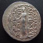 Photo numismatique  Monnaies Monnaies grecques Syria, Syrie Antiochos IX Tetradrachme, Tetradrachm SYRIE, SYRIA, Antiochos IX Philopator Kyzikenos, tetradrachme 114-95 avant JC, 16,33 grms, SMA.384 TTB+