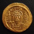 Photo numismatique  Monnaies Monnaies Byzantines Justin II, Justinus II Solidus JUSTIN II, JUSTINUS II, solidus Constantinople en 565-578, 4,48 grms, Sear.345 SUPERBE