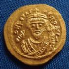 Photo numismatique  Monnaies Monnaies Byzantines Focas, Phocas Solidus PHOCAS, FOCAS, solidus Constantinople Décembre 603, officine non répertoriée !!, 4,50 grms, Sear 623 FDC R!R