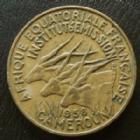 Photo numismatique  Monnaies Anciennes colonies Françaises Cameroun 10 Francs Cameroun Cameroun, Afrique equatoriale Française, 10 francs 1958, LEC.29 TTB