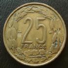 Photo numismatique  Monnaies Anciennes colonies Françaises Cameroun 25 Francs Cameroun, Afrique equatoriale Française, 25 francs 1958, LEC.31 TTB+