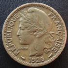 Photo numismatique  Monnaies Anciennes colonies Françaises Cameroun 1 Franc Cameroun, territoire sous mandat, 1 franc 1926, LEC.8 TTB+
