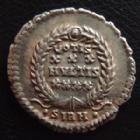 Photo numismatique  Monnaies Empire Romain CONSTANCE II, CONSTANTIUS II, CONSTANTIO II Silique lourde, Heavy siliqua CONSTANTIUS II, silique lourde (heavy) Sirmium, variété de buste diadémé avec 3 rosettes !! 22 mm, 3,25 g,  RIC 17 Var. TTB à SUP R!R!R