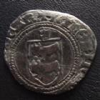 Photo numismatique  Monnaies Monnaies Féodales Béarn Blanc, Morlaas Béarn, Seigneurie, Catherine 1483-1516, Blanc, Morlaas, 2,33 grms, PA.3300 variante, TB+ Rare!