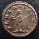 Photo numismatique  Monnaies Empire Romain GALLIEN, GALLIENUS, GALLIAN, GALLIANO Antoninien, antoninianus, antoniniane GALLIEN, GALLIENUS, antoninien en billon! Antioche en 260-268, VENER VICTRICI, beau flan lourd de 5,20 grms et bien centré !! SUPERBE