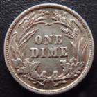 Photo numismatique  Monnaies Monnaies étrangères U.S.A One dime U.S.A, one dime 1900, TTB+
