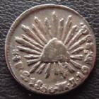 Photo numismatique  Monnaies Monnaies étrangères Mexique, Mexico, Mexican 1/2 Réal Mexique, Mexico, 1/2 Réal 1850 MJ -GO 1,66 grms, KM 3707 TB à TTB