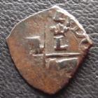 Photo numismatique  Monnaies Monnaies Royales Louis XIII Vaquette du Béarn LOUIS XIII, vaquette du Béarn 1er type, non daté, 0,48 grm, L4L.31 TB+
