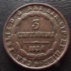 Photo numismatique  Monnaies Monnaies étrangères Italie, Italia, Sardaigne, Sardinien 3 Centesimi Italie, Italia, Sardaigne, Sardinia, 3 centesimi 1826, Carlo Felice, Charles Felix, KM.99.2 TTB+