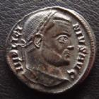Photo numismatique  Monnaies Empire Romain LICINIUS I, LICINIO I,  Follis, folles,  LICINIUS I, follis Siscia en 313-316, DN LICINI AVGVSTI - VOT XX - BSIS, 18 mm, 2,86 grms, RIC 150 (R2) TTB+/SUPERBE+