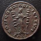 Photo numismatique  Monnaies Empire Romain SEVERINE, SEVERINA Antoninien, antoninianus, antoniniane SEVERINE, SEVERINA, femme d'Aurélien, antoninien Siscia en 275, Concordiae Militum SXXI, 21 mm, 4,14 grms, RIC 13 TTB à SUPERBE