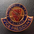 Photo numismatique  Monnaies Monnaies/medailles d'Alsace Alsace Boutonnière, épingle, insigne, Miniature, Miniatur Alsace, automobile club d'Alsace, vice président, Boutonnière  TTB+
