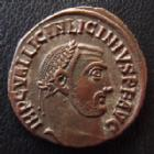 Photo numismatique  Monnaies Empire Romain LICINIUS I, LICINIO I,  Follis, folles,  LICINIUS I, follis Alexandrie en 315, Iovi Conservatori Avgg, ALE QAN, 20 mm, 3,34 grms, RIC 10 R3! SUPERBE/TTB+