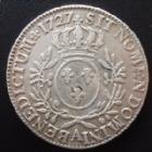 Photo numismatique  Monnaies Monnaies Royales Louis XV Ecu aux branches d'olivier LOUIS XV, Ecu aux branches d'olivier 1727 A Paris, 29,25 grms, L4L.480 TB à TTB/TTB