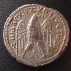 Photo numismatique  Monnaies Colonies Romaines Syria, Syrie, Caracalla Tetradrachme, Tetradrachm SYRIE, SYRIA, CARACALLA, tétradrachme 215-217, Aigle, 11,44 grms, Prieur 242 TTB+