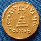 Photo numismatique  Monnaies Monnaies Byzantines Constant II, Constans II Solidus CONSTANT II, Solidus 641-668, Constantinople, Sear 942, 4,44 grms, petites traces sinon SUPERBE +