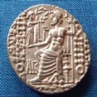 Photo numismatique  Monnaies Monnaies grecques Syrie, Syria, Philippe Philadelphe Tetradrachme, Tetradrachm SYRIE, SYRIA, PHILIPPE PHILADELPHE, PHILIPPUS PHILADELPHUS, Tétrdrachme Antioche, 92-83 avant Jc, ÄR, 15,34 grms, Prieur 1, Mac Alee 1 Presque SUPERBE