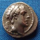Photo numismatique  Monnaies Monnaies grecques Syria, Syrie, Antiochos IV Drachme, Drachm SYRIE, SYRIA, ANTIOCHOS IV Epiphanes, drachme Antioche, 175-164 avant Jc, Apollon, SNG SPAER 1223, 4,16 grms, TTB+