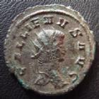 Photo numismatique  Monnaies Empire Romain GALLIEN, GALLIENUS, GALLIAN, GALLIANO Antoninien, antoninianus, antoniniane GALLIEN, GALLIENUS, antoninien Rome en 262-263, Fortuna Redux/S, 21-22 mm, 3,99 grms, RIC 193 Var. TB à TTB