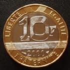 Photo numismatique  Monnaies Monnaies Françaises Cinquième république 10 Francs Genie 10 Francs Genie 2000, G.827 BU