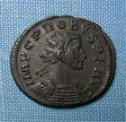 Photo numismatique  Monnaies Empire Romain PROBUS, PROBIO Antoninien, antoninianus, antoniniane PROBUS, antoninien, Lyon en 277.280, Tempor felici, Cohen 713 TTB+/TTB