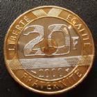 Photo numismatique  Monnaies Monnaies Françaises Cinquième république 20 Francs Mont St Michel 20 Francs Mont St Michel 2000, G.871 BU