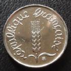 Photo numismatique  Monnaies Monnaies Françaises Cinquième république 1 centimes épi 1 Centime Epi 1999, G.91 BU