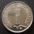Photo numismatique  Monnaies Monnaies Françaises Cinquième république 1 centimes épi 1 Centime Epi 1990, G.91 FDC
