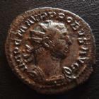 Photo numismatique  Monnaies Empire Romain PROBUS, PROBIO Antoninien, antoninianus, antoniniane PROBUS, Antoninien Lyon en 276, Securitas Orbis / I, 3,23 grms, RIC 49 TTB/TTB+