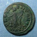 Photo numismatique  Monnaies Empire Romain 3ème siècle NUMERIEN Antoninien, antoninianus, antoniniane NUMERIEN, (Numérianus) antoninien, Ticinium en 283, Provident augg, Cohen 83 TTB