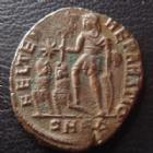 Photo numismatique  Monnaies Empire Romain CONSTANCE II, CONSTANTIUS II, CONSTANTIO II Centenionalis, mittel bronze, ae, CONSTANCE II, CONSTANTIUS II, centenionalis 324-361, Cohen 31 var. TB+