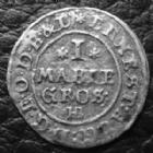 Photo numismatique  Monnaies Allemagne avant 1871 Allemagne, Deutschland, Braunschweig, Calenberg, Hannover Mariengroschen BRAUNSCHWEIG LUNEBERG CALENBERG HANNOVER, mariengroschen 1683 HB, KM.292 TTB