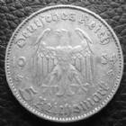 Photo numismatique  Monnaies Allemagne après 1871 allemagne, deutschland, germany, dritte reich, 3 em reich 5 Mark 5 Mark Kirche 1934 F KM.84 P.TTB