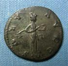 Photo numismatique  Monnaies Empire Romain 3ème siècle CARIN Antoninien, antoninianus, antoniniane CARIN, (Carinus) antoninien, Lyon en 283, Salus augg, Cohen 122 TTB