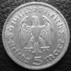 Photo numismatique  Monnaies Allemagne après 1871 allemagne, deutschland, germany, dritte reich, 3 em reich  5 mark Hindenburg 5 Mark Hindenburg 1935 A J.360 TTB