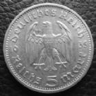 Photo numismatique  Monnaies Allemagne après 1871 allemagne, deutschland, germany, dritte reich, 3 em reich  5 mark Hindenburg 5 Mark Hindenburg 1935 A, J.360 TTB