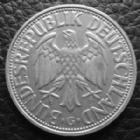 Photo numismatique  Monnaies Allemagne après 1871 Allemagne BDR, Deutschland BDR, Germay BDR 2 mark  2 MARK 1951 G, J.386 petits coups sinon TTB+