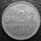 Photo numismatique  Monnaies Allemagne après 1871 Allemagne, Deutschland, Empire, Kaisereich 2 mark  BAYERN, BAVIERE, OTTO 2 MARK 1898 D, J.45 TTB Rare!!