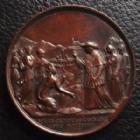 Photo numismatique  Monnaies Médailles Etrangères Vatican, papal states Médaille, Medaillen, Medals VATICAN, PIE IX, médaille de 43,2 mm, 1857, 32,89 grms SUPERBE