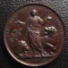 Photo numismatique  Monnaies Médailles Etrangères Vatican, papal states Médaille, Medaillen, Medals VATICAN, PIE IX, médaille de 43 mm, 1861, 37,84 grms SUPERBE+