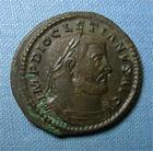 Photo numismatique  Monnaies Empire Romain DIOCLETIEN, DIOCLETIANUS, DIOCLETIAN, DIOCLETIANO Follis, folles,  DIOCLETIEN (Diocletianus) follis, Trêves, Cohen 85 TTB+/TTB