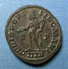 Photo numismatique  Monnaies Empire Romain 4ème siècle  DIOCLETIEN Follis, folles,  DIOCLETIEN (Diocletien) follis, Trêves, Cohen 85 TTB