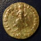 Photo numismatique  Monnaies Empire Romain VALENS Nummus, Kleine bronze, nummi VALENS 367-370 Nummus, 2,29 grms, C.47 TB à TTB