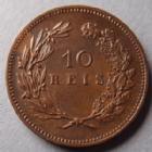 Photo numismatique  Monnaies Monnaies étrangères Portugal 10 Reis Portugal, Carlos I, 10 reis 1892, KM.532 petites traces sinon SUPERBE