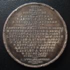 Photo numismatique  Monnaies Médailles Bourgmestre, Burgmestre Médaille en argent C.BULS Bourgmestre, Burgmestre, médaille en argent de 41 mm, par JC.CHAPLAIN 1889, plusieurs coups sinon TTB