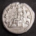 Photo numismatique  Monnaies Empire Romain MACRIN, MACRINUS, MACRINO Denier, denar, denario, denarius MACRIN, MACRINUS, denier Rome en 217-218, ANNONA AUG, 3,21 grms, RIC.55 SUPERBE+ Belle monnaie!