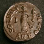Photo numismatique  Monnaies Empire Romain MAXIMIN II, DAZA, MAXIMINUS II, DAIA, MAXIMINO II Follis, folles,  MAXIMIN II Daza, MAXIMINUS II Daia, follis Antioche en 312, SOLI INVICTO ANT/I*, 4,64 grms, 19-21 mm, RIC.167b SUPERBE+