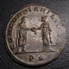 Photo numismatique  Monnaies Empire Romain AURELIEN, AURELIAN, AURELIANUS, AURELIO Antoninien, antoninianus, antoniniane AURELIEN, AURELIANUS, antoninien Siscia en 272-274, CONCORDIA MILITUM P*, 3,10 grsm, 23 mm, petit écrasement sinon SUPERBE