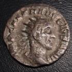 Photo numismatique  Monnaies Empire Romain TRAJAN DECE, TRAJANUS DECIUS, TRAIANUS DECIUS, TRAIANO DECIO,  Antoninien, antoninianus, antoniniane TRAJAN DECE, TRAJAN DECIUS, antoninien Rome en 250, ADVENTUS AUG, 2,53 grms, 20 mm, RIC.11b TB